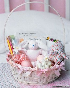 Whether you're creating a playful present or a decorative display, these unique baskets are sure to make a statement for Easter.