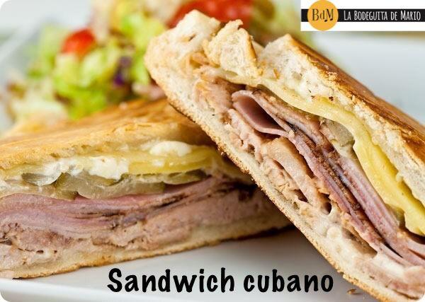 Exquisito Sandwich cubano