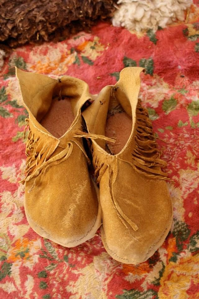 Moccasin Making - An Art Almost Forgotten... but not quite...