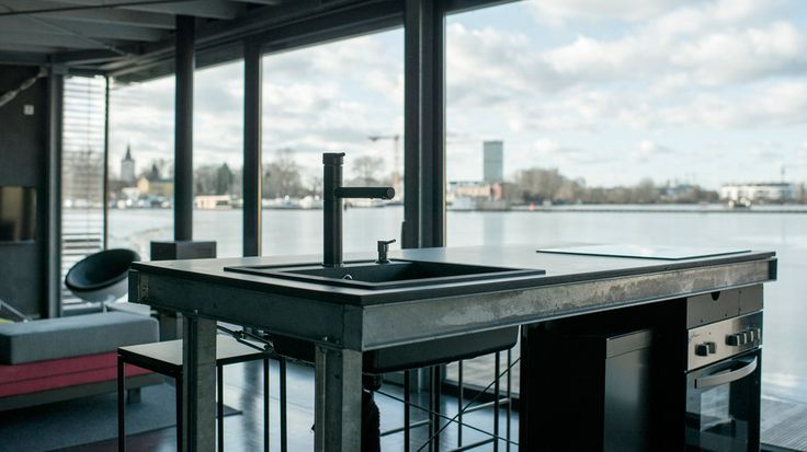 Luxus Apartment / Loft, FLODD boat black, Friedrichshain - Berlin | Suite030