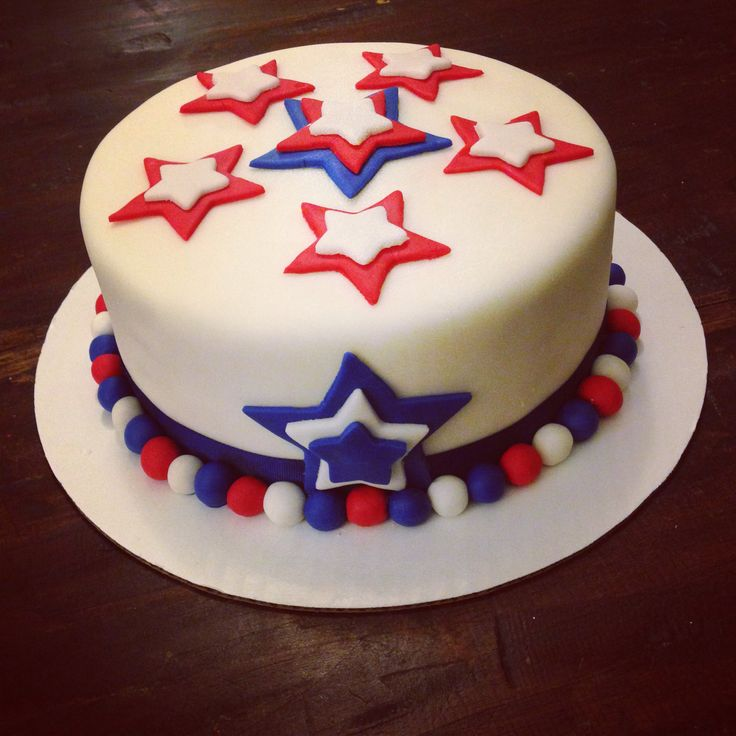 34 best images about independence day cakes on pinterest for American flag cake decoration