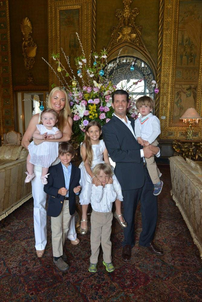 Donald Trump Jr. & family.
