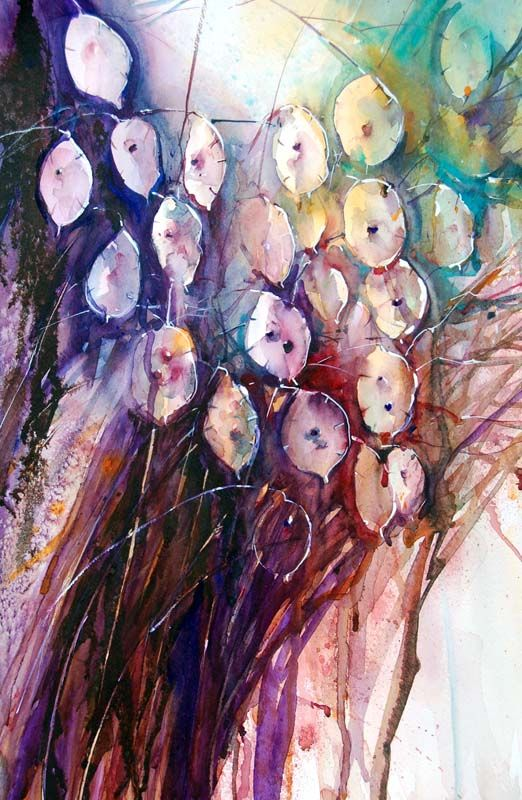 The Magic of Watercolour Painting Virtual Gallery - Jean Haines, Artist - Autumn #watercolor jd