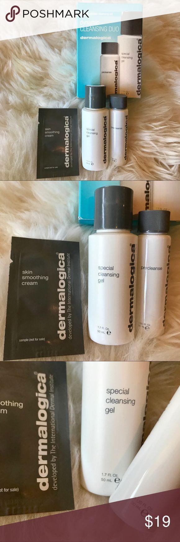 Dermalogica cleansing duo & skin smoothing cream Dermalogica dynamic cleansing duo & skin smoothing cream. Travel size. dermalogica Makeup