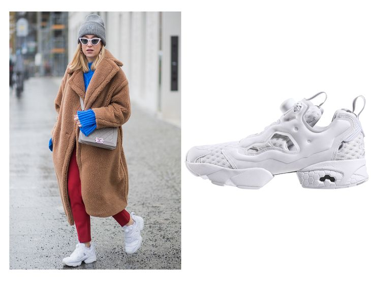Shop the Sneakers Street Style Stars are Wearing - REEBOK INSTAPUMP FURY from InStyle.com