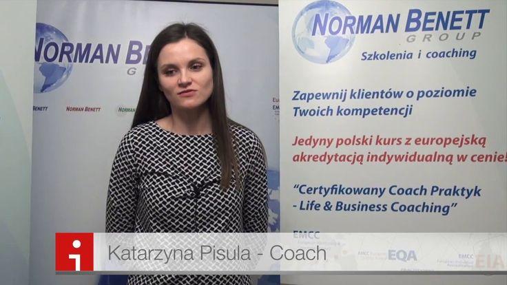Certyfikowany Coach Praktyk - Katarzyna Pisula