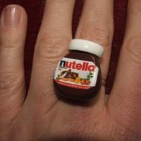 Nutella Jar Ring