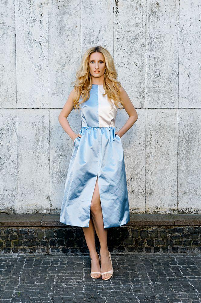MFD cocktail duchesse dress.