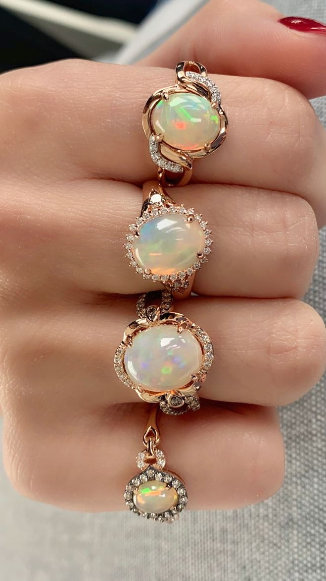 Unique exclusive Opal Jewelry Set Handcrafted With Silver Hoop Earrings