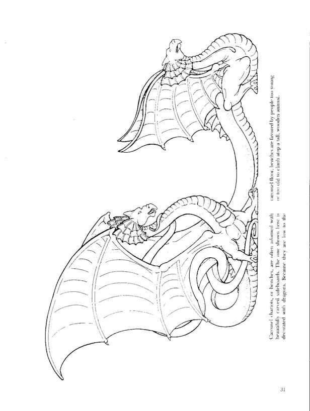 coloring pages of carousel zebra - photo#17