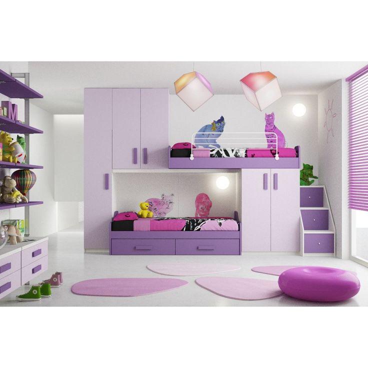 Dormitoare copii pat suprapus