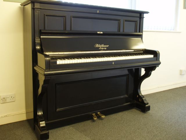 A gorgeous restored Bluthner at www.shacklefordpianos.squarespace.com l Macclesfield