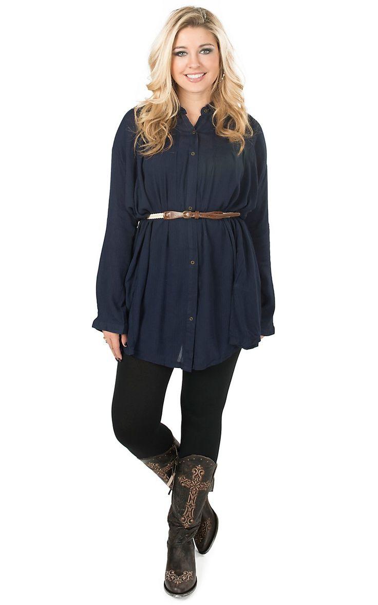 Best 25+ Long sleeve tunic dress ideas on Pinterest | Mori style ...