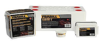Bait Buckets 179986: Frabill Habitat Deluxe Worm Storage Kit New BUY IT NOW ONLY: $30.54
