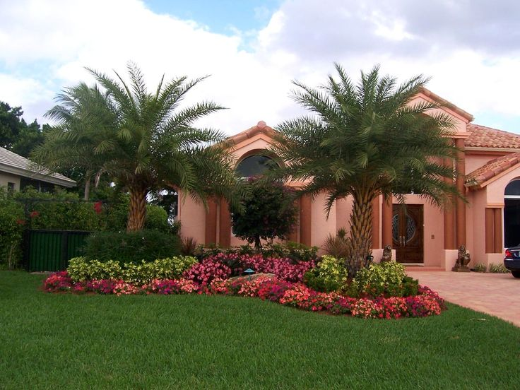 landscaping ideas for front yard in south florida create a tropical residence with florida landscaping ideas - Florida Landscape Design Ideas