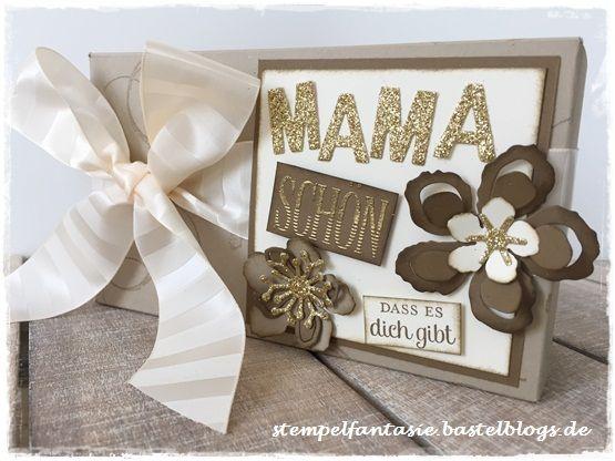 Stampin Up_Muttertag_Box_Geschenktueten_Punch Board_Verpackung_Botanical Bloom_Pflanzen Potpourri_Stempelfantasie