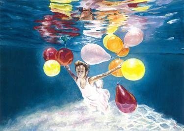 Saatchi Online Artist Christina Zelenskaya; Painting, Air Fantasies #art