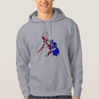Philippine Map Big Hoody