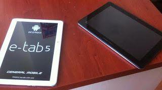 Bt ve Yazilim Dersi: Fatih Projesi ETAB5 Tablet Guncellemesi