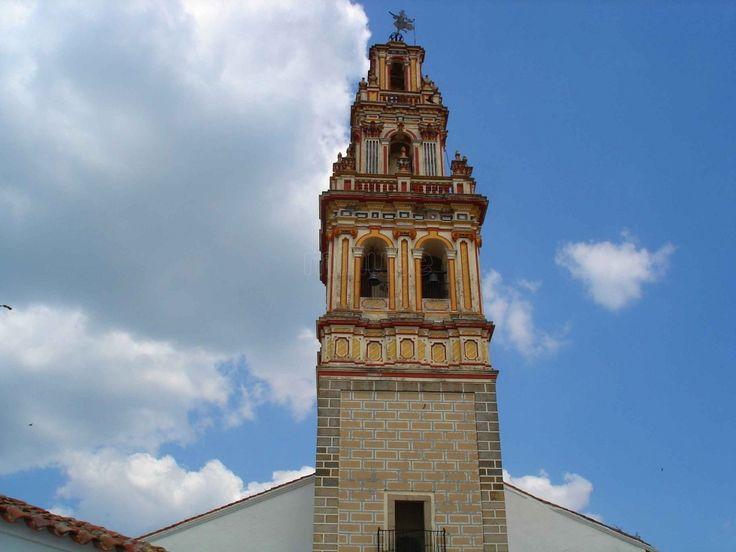 La Torre Barroca de la Iglesia de Santa María de la Encina, una preciosidad.