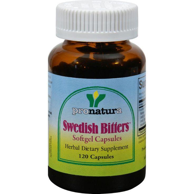 Pronatura Swedish Bitters - 120 Caps
