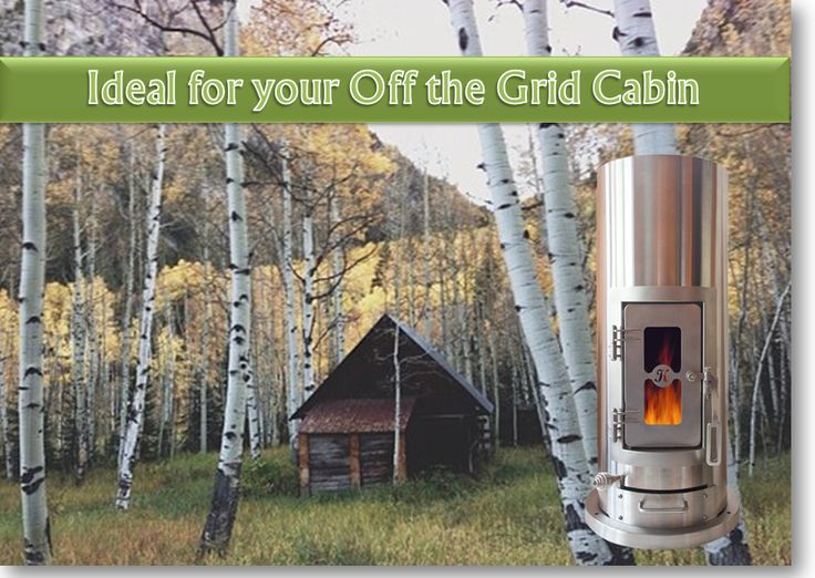 Kimberly Wood Stove - Small, EPA Certified Wood Stove, Gasifier and Generator
