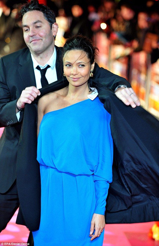 thandie newton husband | Thandie Newton steals the limelight in vibrant blue frock at The Best ...