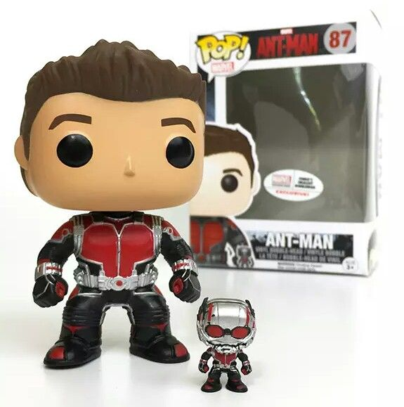 Funko Pop! Marvel: Ant-Man Unmasked #87 (Marvel Collector Corps Exclusive) with Funko's smallest bobblehead www.collectorcorps.com