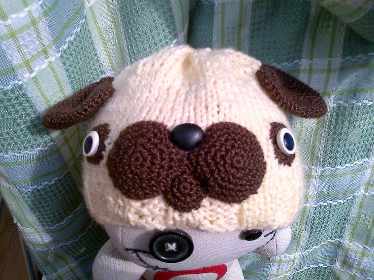 Gorro Pug :3
