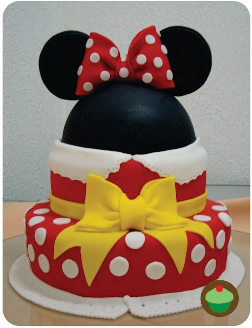 Minnie Mouse Cake ★★★ for Jhaymie★★★