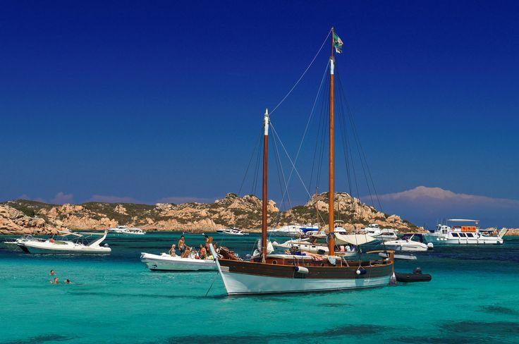 À l'#île de la #Maddalena en #Sardaine. #Italie