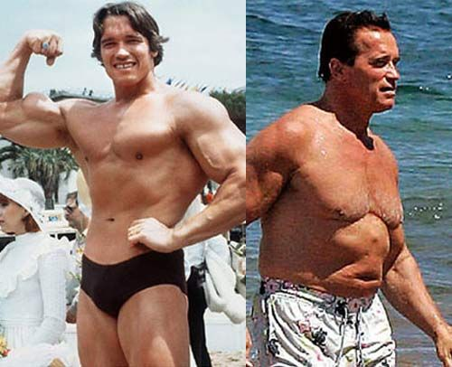 Arnold Schwarzenegger Before and After | Posted in Arnold ... Arnold Schwarzenegger