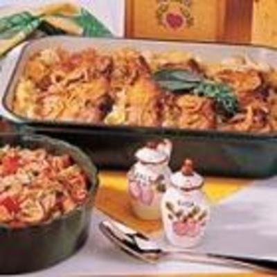 Art    Pork Chop Potato Casserole food-and-drink