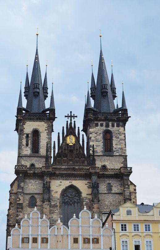 Tyn Church - Old Town Square #Prague