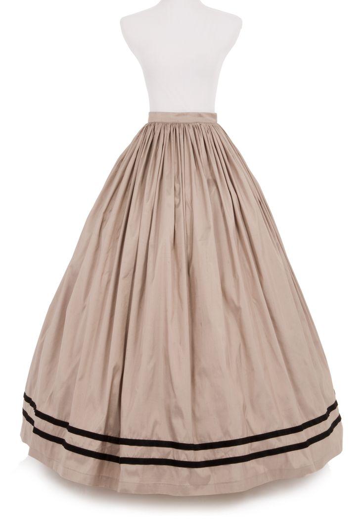 Dupioni Skirt