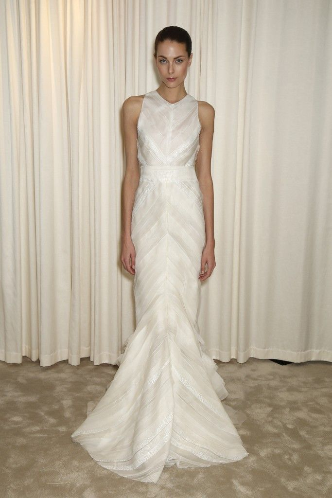 J. Mendel – Bridal Fashion Week Spring 2015
