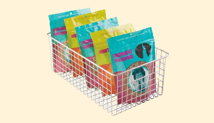Get Your Cabinets Organized with These Wire Storage Baskets — Amazon Deal of the Day