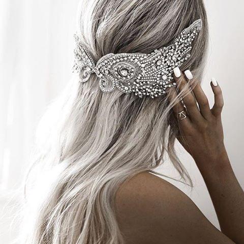 Repost @kirstyfleming | Handmade Couture Headpiece @shutthefrontdoor_australia ✨…