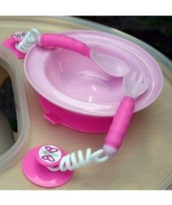 I have to get this for my 8 month old who only wants to feed herself!!!  <3 it!!!