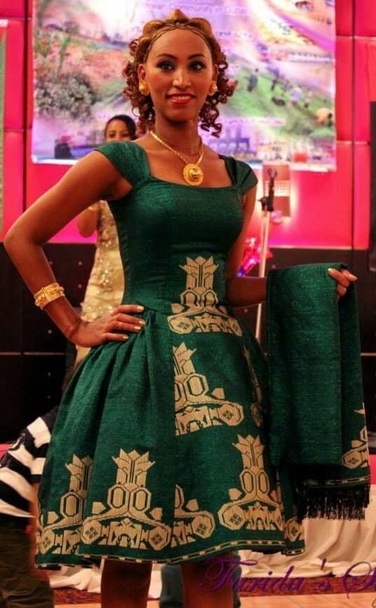 Ethiopian dresses habesha eritrean ethiopian for Ethiopian decorating style