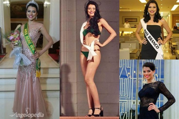 Maxine Silva Miss Acre 2015 for Miss Brazil 2015