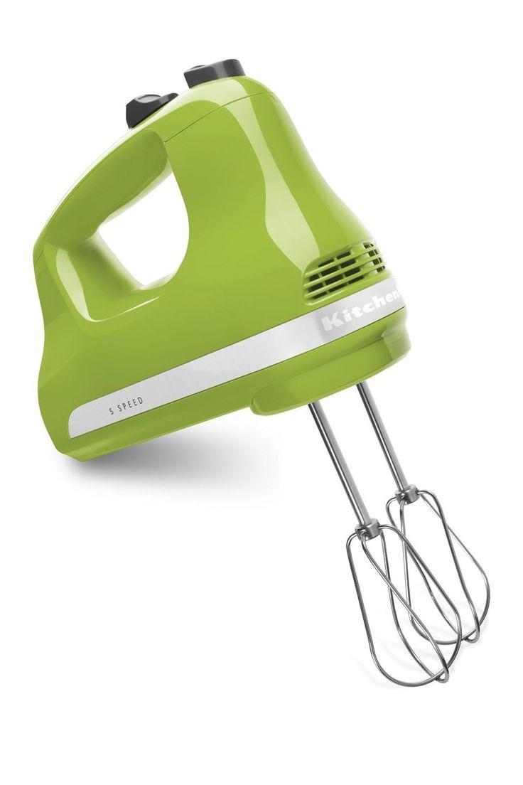Kitchenaid green apple 5speed hand mixer nordstrom