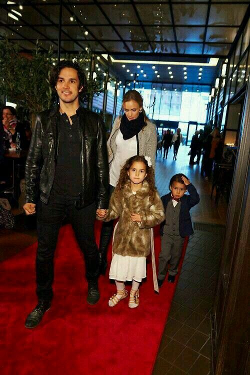 Vegard and his family