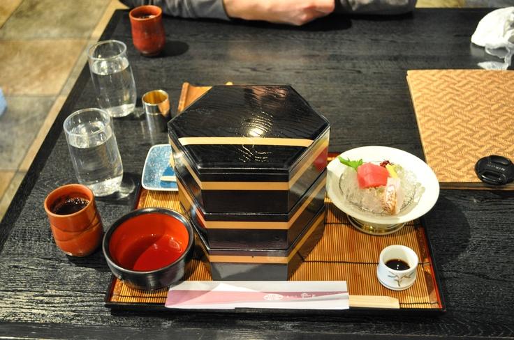 Tasty lunch box in Nara