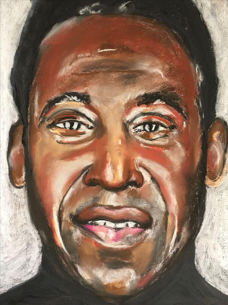 Portrait I did of Pele