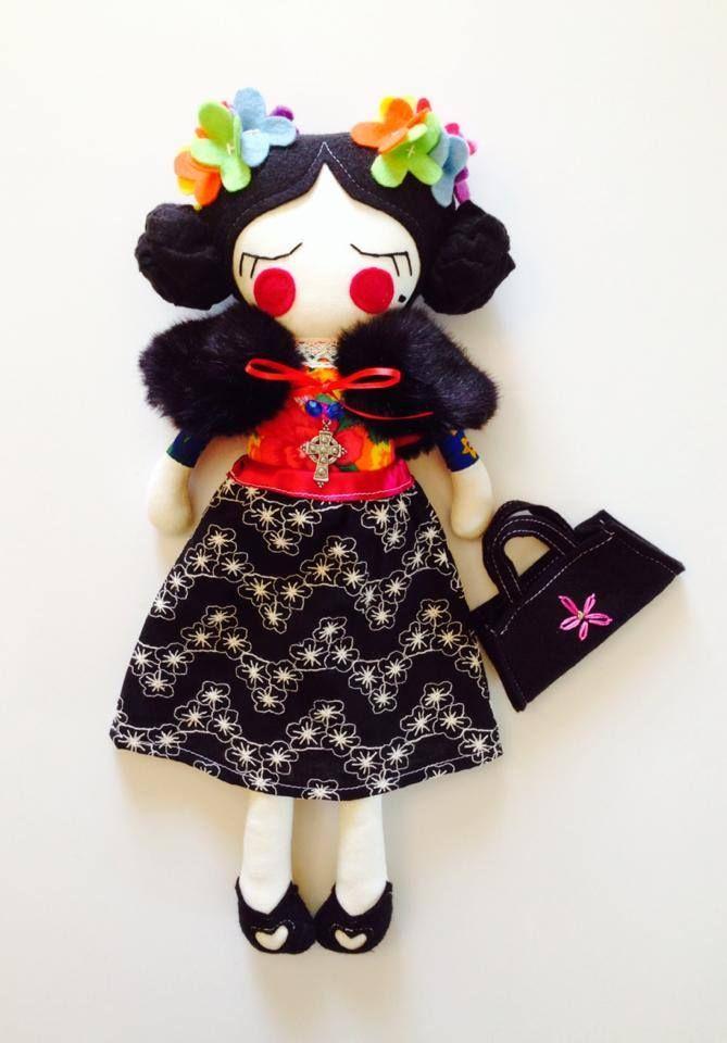 Frida Kahlo Inspired Doll