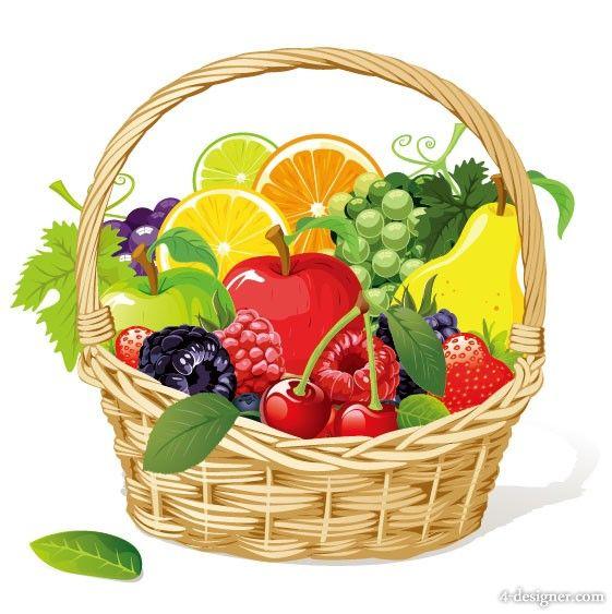 La Foto 02 de material de vectores de frutas