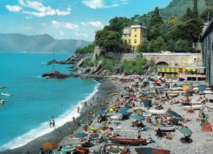 Zoagli, Liguria, Italy (1968)