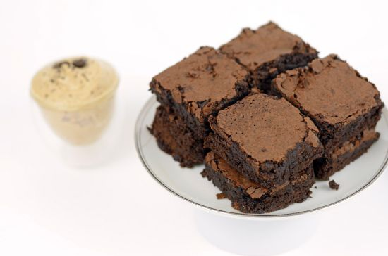 Fudgy Espresso Brownies {grain free, nut free} - Plated with Style