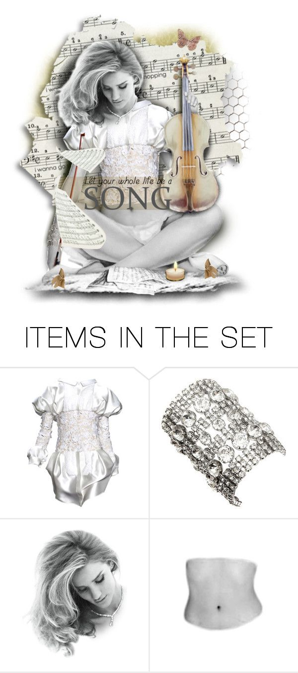 Let your life be a song by girlyideas on Polyvore featuring art